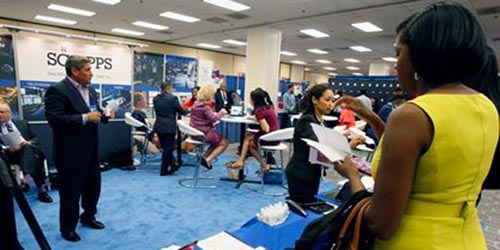 Navigate to GET HIRED at the #NABJ17 Convention and Career Fair